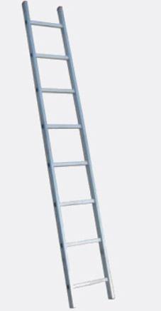 Лестница алюминиевая односекционная